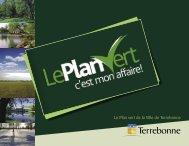 Plan vert - Ville de Terrebonne
