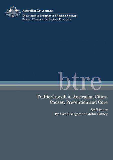 PDF: 1750 KB - Bureau of Infrastructure, Transport and Regional ...