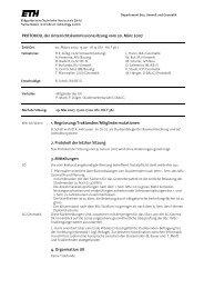 Sitzung 2/07 vom 20.03.07 - Departement Bau, Umwelt und Geomatik