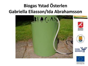 Biogas Ystad - Energikontor Sydost