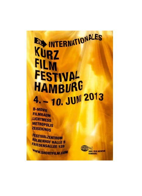 Competitions Internationales Kurzfilm Festival Hamburg