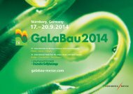 Nürnberg, Germany galabau-messe.com