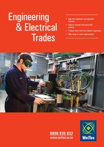 Engineering & Electrical Trades - Wellington Institute of Technology