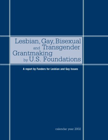 LGBTQ Grantmaking by U.S. Foundations - Funders for Lesbian and ...