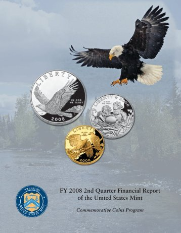 FY 2008 2nd Quarter Financial Report of the United States Mint