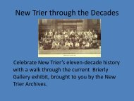 New Trier through the Decades - New Trier Township High School