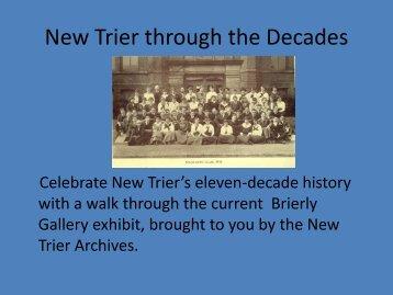 New Trier through the Decades - New Trier Township High School