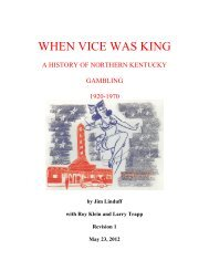 WHEN VICE WAS KING - Preserving Gaming History