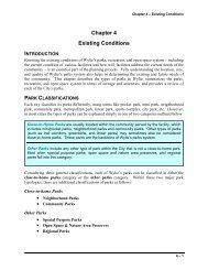 Chapter 4 Existing Conditions - City of Wylie
