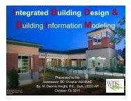 Integrated Building Design & Building Information Modeling - ASHRAE