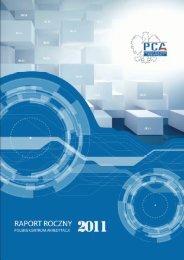 Raport roczny 2011 (5.7 MB) - Polskie Centrum Akredytacji