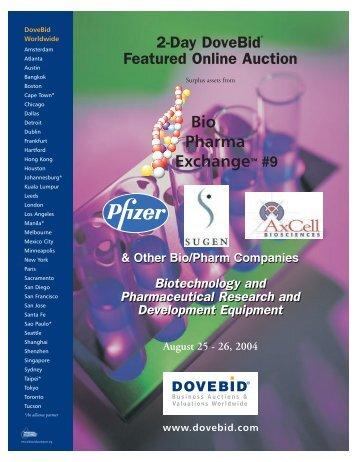 DoveBid 2-Day DoveBid Featured Online Auction