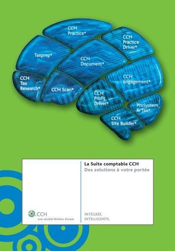 La Suite comptable CCH Des solutions à votre ... - CCH Canadian