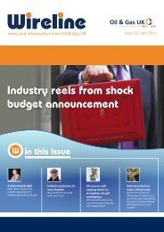Issue 16 April 2011 (PDF File 1.47MB) - Oil & Gas UK