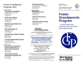 Foster Grandparents Program - State of Illinois