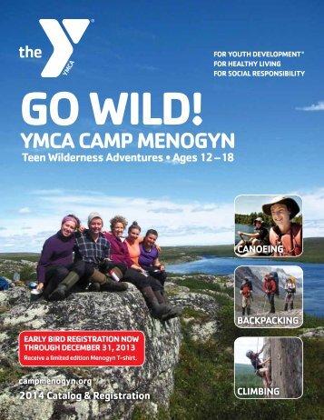 2014-YMCA-Camp-Menogyn-Brochure