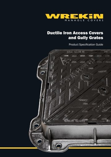 Ductile Iron Access Covers and Gully Grates - John Nicholls