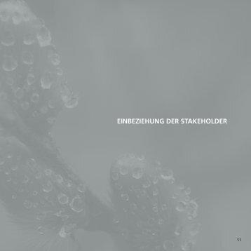 einbeziehung der stakeholder - Blechwarenfabrik Limburg GmbH