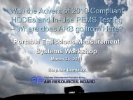 With the Advent of 2010 Compliant HDDEs and In-Use PEMS Testing