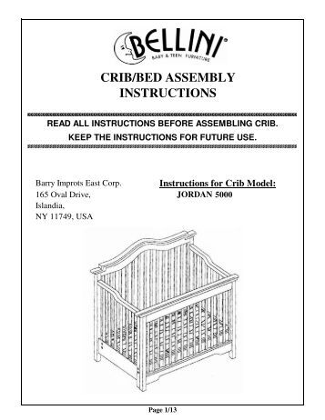 davinci kalani crib instructions