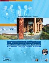 Brochure 2013 - JIIT