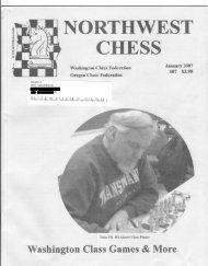 200701 - Northwest Chess!