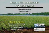 Insect pest management: vegetable crops - Russell Labs Site Hosting