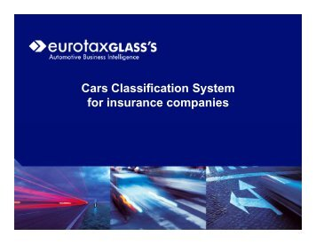 Cars Classification System for insurance companies