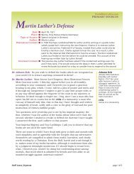 Martin Luther at the Diet of Worms - Nystrom's World History Atlas ...