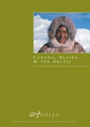 a anada laska the rctic - Audley Travel
