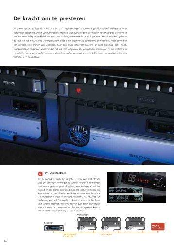 Open PDF (411 KB) - Kenwood