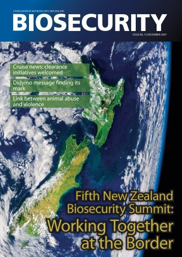 Issue 80 - Biosecurity New Zealand