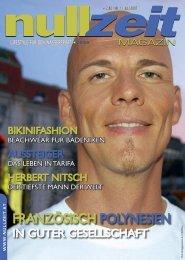 nullzeit Magazin, Ausgabe 1/07 - Nullzeit.at