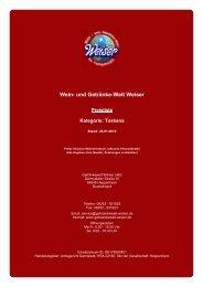 Preisliste für Kategorie: Toskana - und Getränke-Welt Weiser