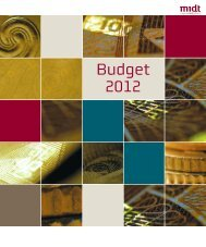 Budget 2012 - Region Midtjylland