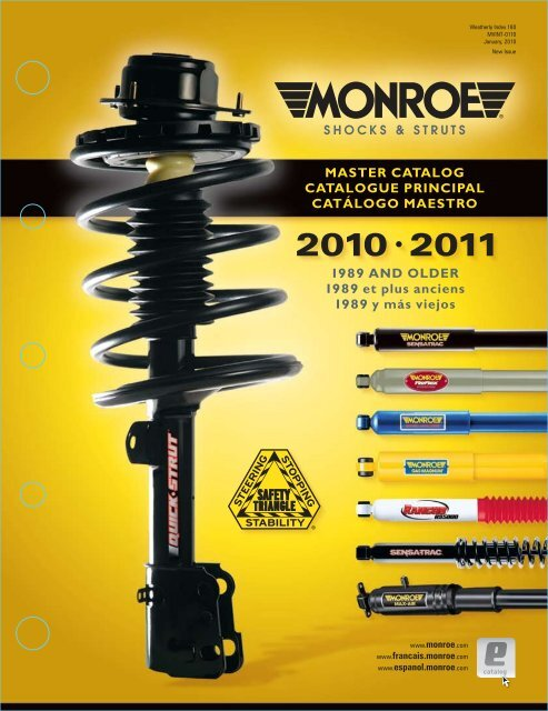 Shock Absorber-Wagon Rear Monroe MA757