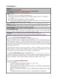 učne priprave 1–5 s prilogami
