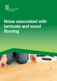 Noise associated with laminate and wood flooring - Basingstoke and ...