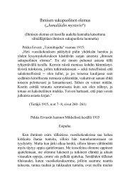 Ihmisen sukupuolinen olemus (`Jumaläidin mysterioA) - Pekka Ervast