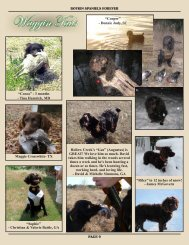 Pages 9-10 - Hollow Creek Kennel