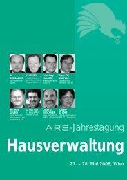 ARS-Jahrestagung - und Vermögenstreuhänder, Fachverband Logo ...