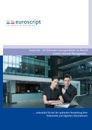 Kontakt - Euroscript