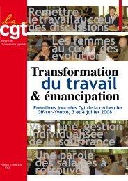 Transformation & émancipation - Fédération CGT des transports - La ...