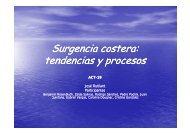 Surgencia costera - Universidad de Chile