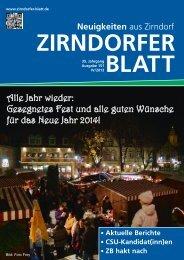 Zirndorfer Blatt Nr. 151 - Das Zirndorfer Blatt