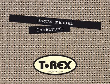 manual tonetrunk.indd - The Electric Room