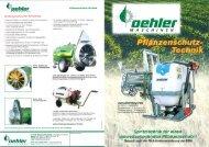 OEHLER Spritztechnik - Oehler Maschinen