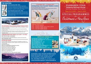 Reith Weihnachtsflyer 2011 Eng final_Layout 1 - Sivananda Yoga ...