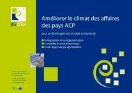 BizClim, Facilité Climat des affaires ACP - RIAED