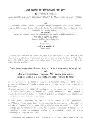 Presentazione in PDF - Teatro La Madrugada